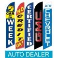 Auto Car franchise dealer swooper flags