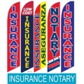 Insurance Notary swooper flags
