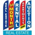 Real Estate Rental swooper flags