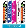 Telecom cellphone swooper flags