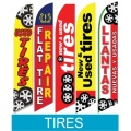 Tire Service swooper flags