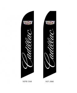 Cadillac GM auto dealer swooper flag