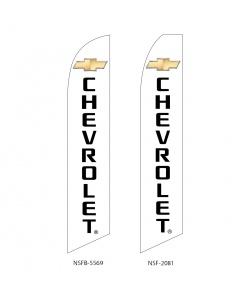 Chevrolet  dealer swooper flag