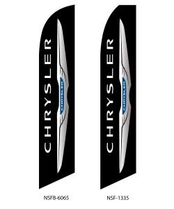 Chrysler dealer swooper flag