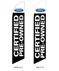 Ford certified pre-owned dealer swooper flag