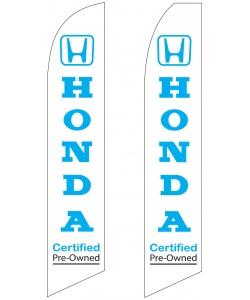 Honda pre-owned seller swooper flag