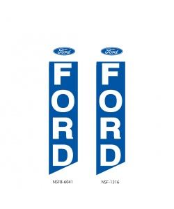 Ford dealer swooper flag