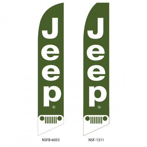 Jeep Flag  6055