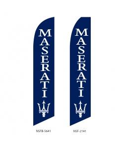 Maserati dealer swooper flag
