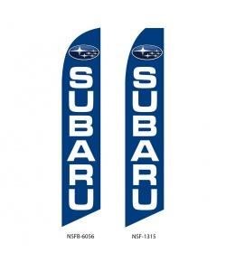 Subaru dealer swooper flags