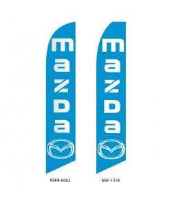 Mazda dealership swooper-flag