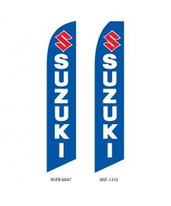 Suzuki dealer swooper flag