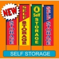 Self Storage vertical flags