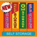 Self Storage vertical flags