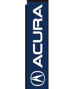 Acura dealership vertical banner flag