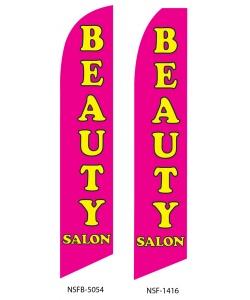 Beauty salon swooper flag