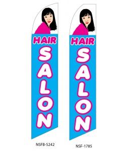 Hair salon swooper-flag