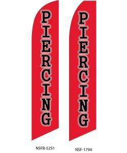 Piercing swooper flag